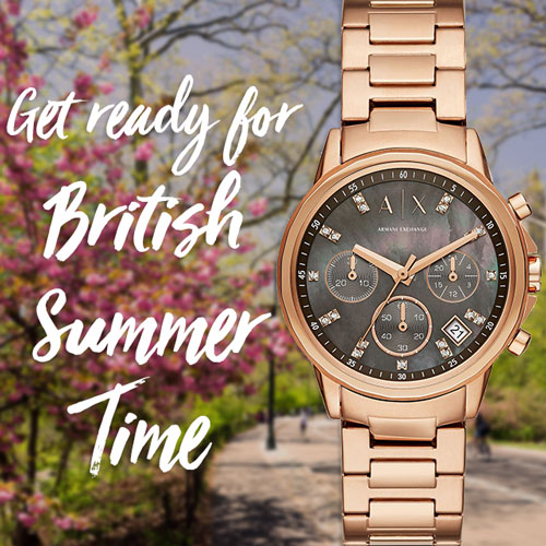 Get ready for British Summer Time