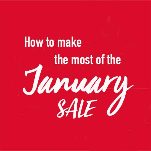 How to make the most of the January sale