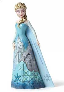 Disney Traditions Frozen Elsa's Fortress of Frost Figurine