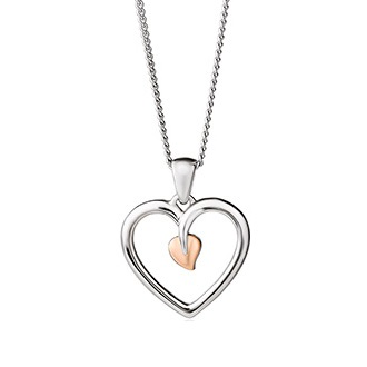 Clogau Tree of Life Heart Pendant