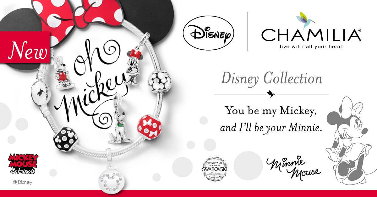 Chamilia Disney Mickey Mouse & Friends
