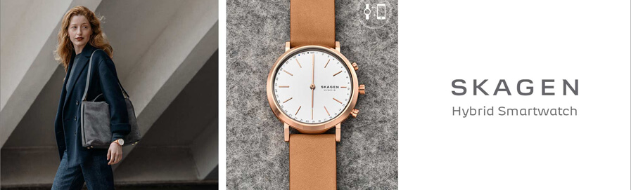 Skagen Connected Ladies' Smartwatches at H.Samuel