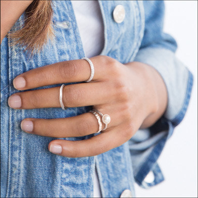 Chamilia Stacking Rings