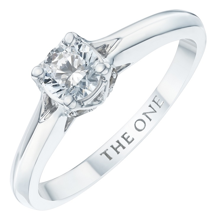 Shop The One - Diamond Solitaire Rings