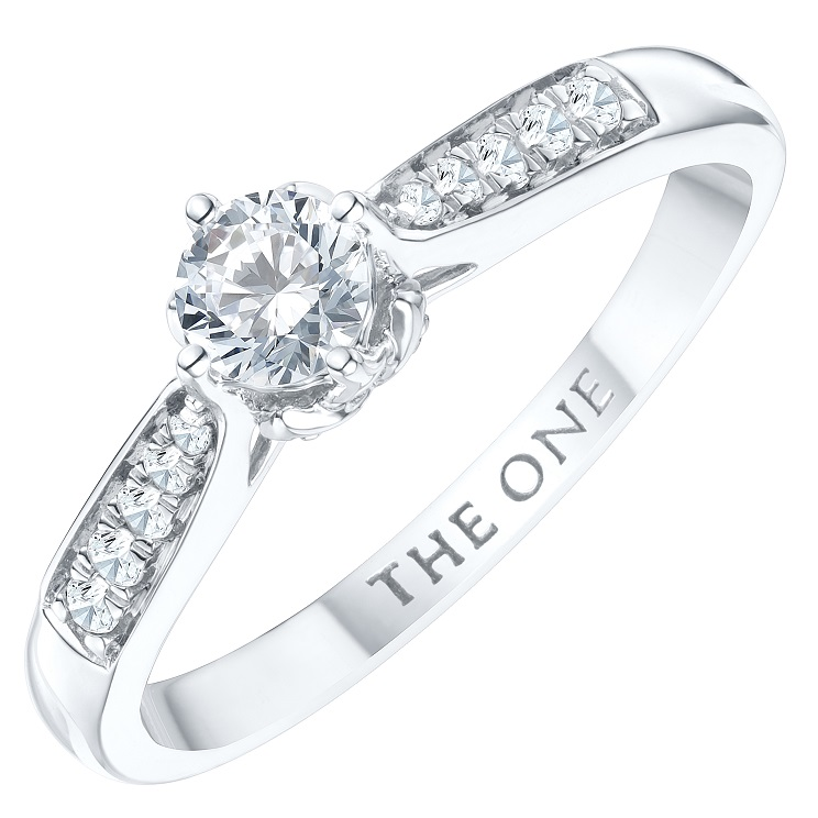 Shop Now - The One Diamond Ring Collection