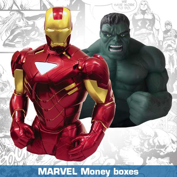 Marvel: Money Boxes