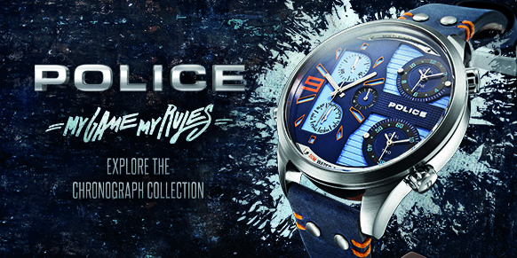 Shop Police Chronograph Watches
