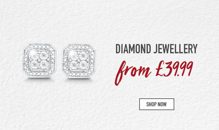 Up to 50% off Diamond Jewellery - Shop now