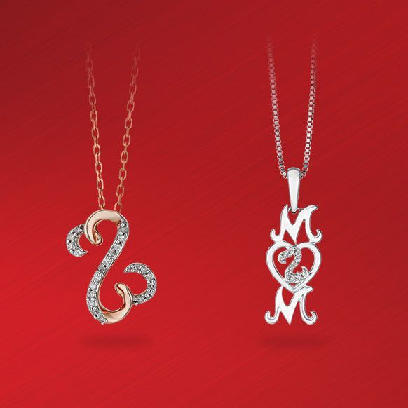 Open Hearts by Jane Seymour Diamond Necklaces