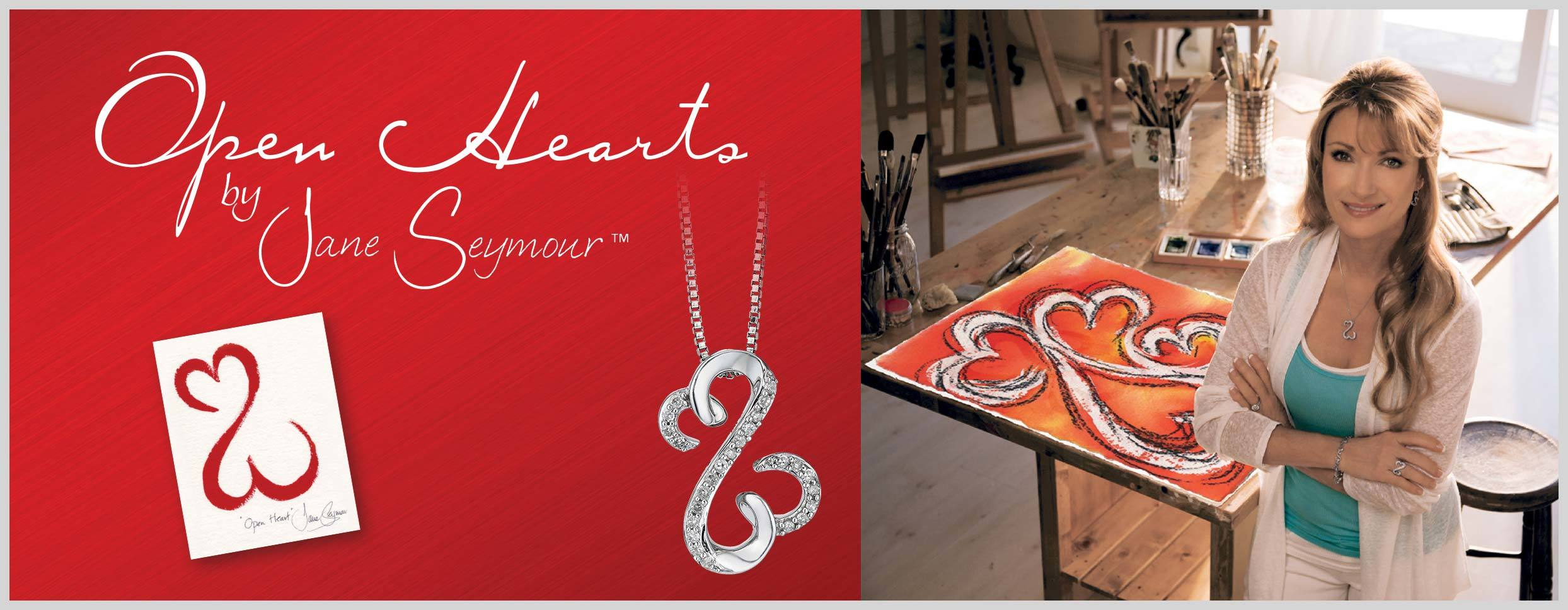 Open Hearts by Jane Seymour - Exclusive to H Samuel