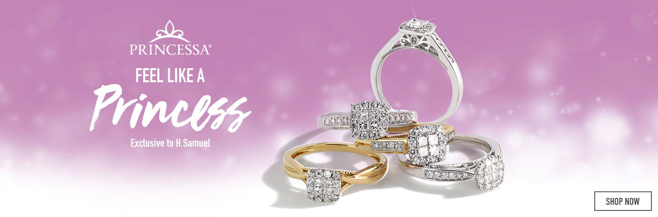 Princessa Diamond Jewellery - Shop Now
