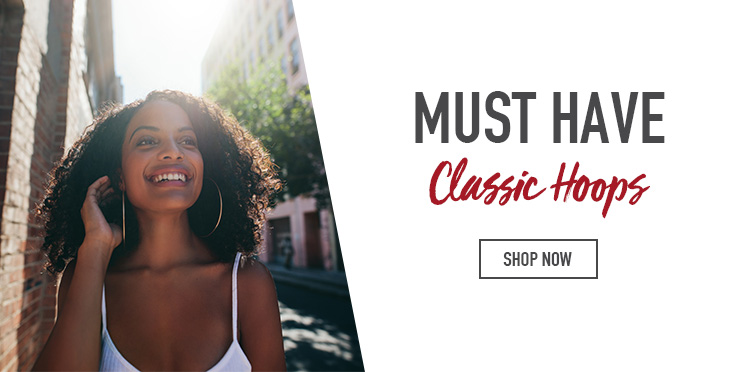 Must Have Classic Hoop Earrings - Shop now