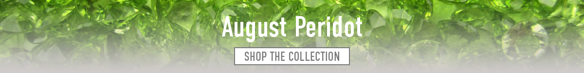 Peridot jewellery - Shop Now