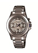 Casio Sheen Ladies' Grey Stainless Steel Bracelet Watch