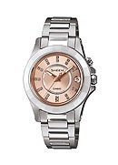 Casio Sheen Ladies' Stainless Steel Bracelet Watch
