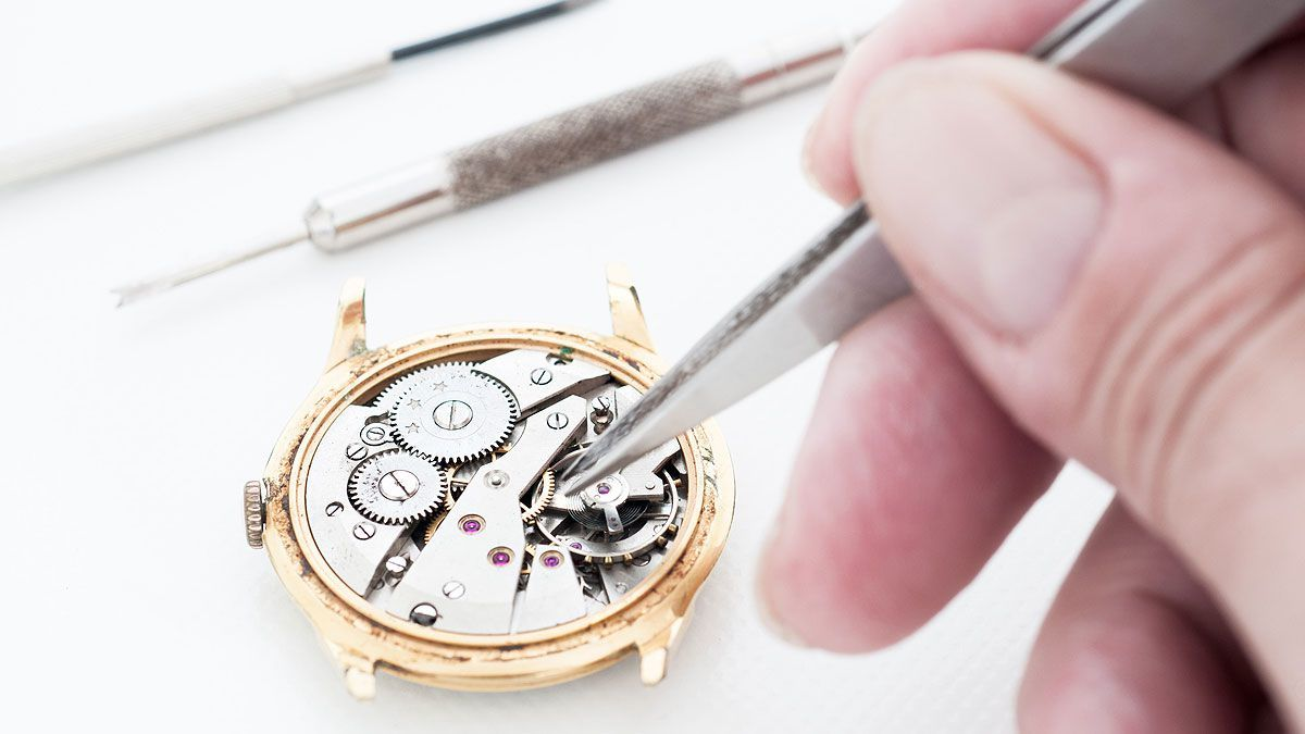 Watch repair service guide