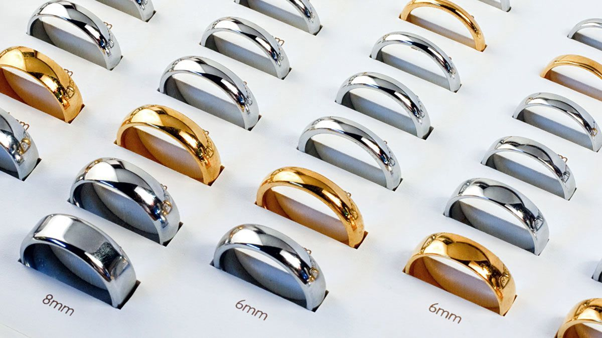 Wedding Ring Band width Guide