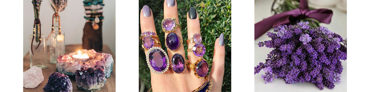 Pinterest Amethyst Inspiration