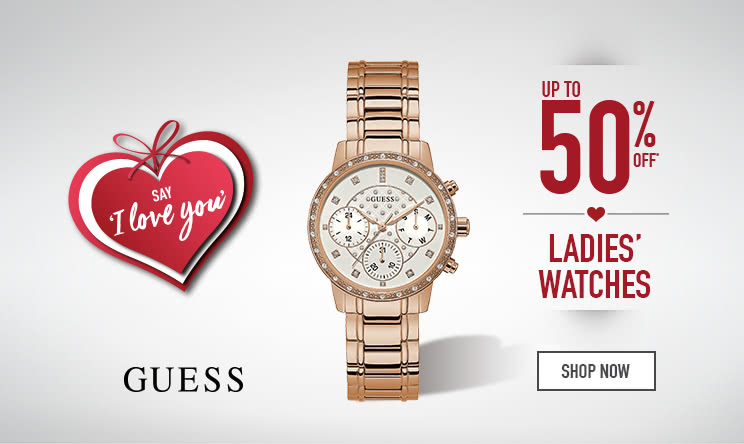 up to 50% off Ladies' Watches - Shop now