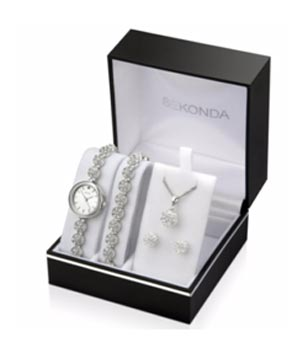 Sekonda Ladies' Watch, Bracelet, Necklace & Earring set