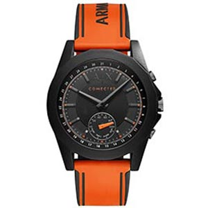 Armani Exchange Connected Men's Orange Hybrid Smartwatch