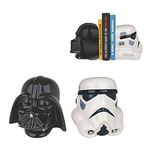Star Wars Darth Vader And Storm Trooper Bookends