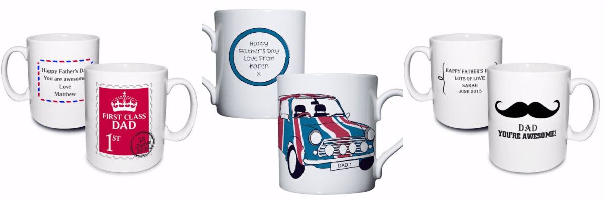 Mugs for Dad's