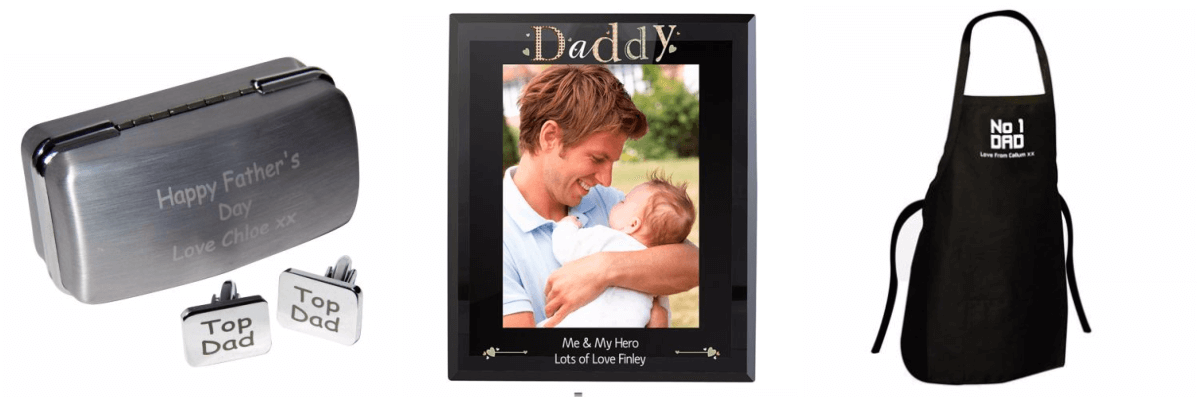 Personalised Gifts for Dad