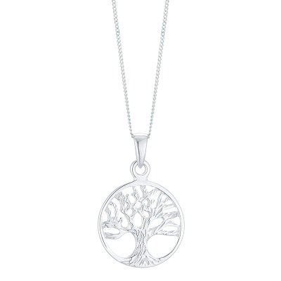 Sterling Silver Tree of Life Design Pendant