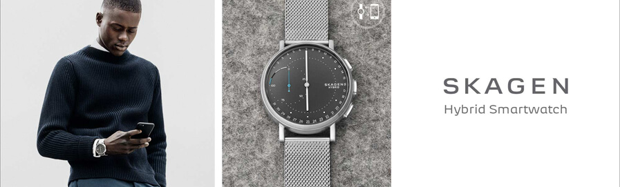 Skagen Connected Men's Smartwatches at H.Samuel