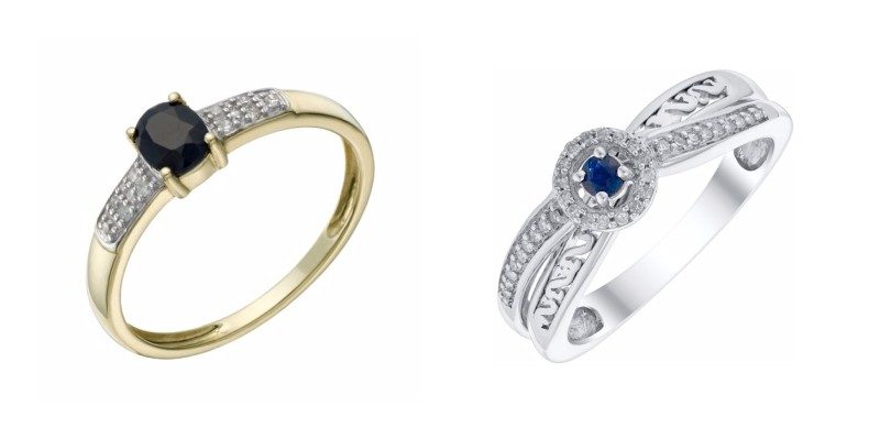 Sapphire Birthstone rings at H.Samuel