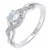 The Forever Diamonds 18ct White Gold
