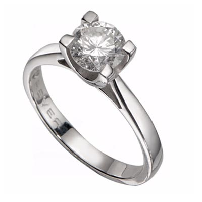 The Forever Diamond - 18ct White Gold 1 Carat Diamond Ring