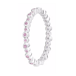 Chamilia Swarovski Zirconia Infinity Stacking Ring Small