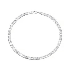 Sterling Silver Flat 22 Chain