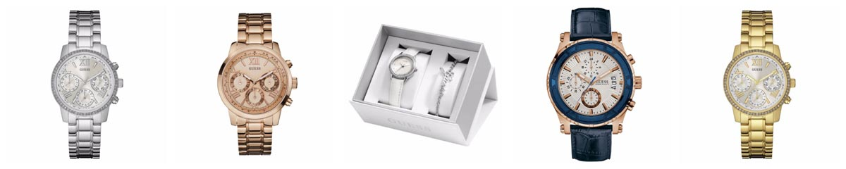 Guess Watch and Bracelet Set