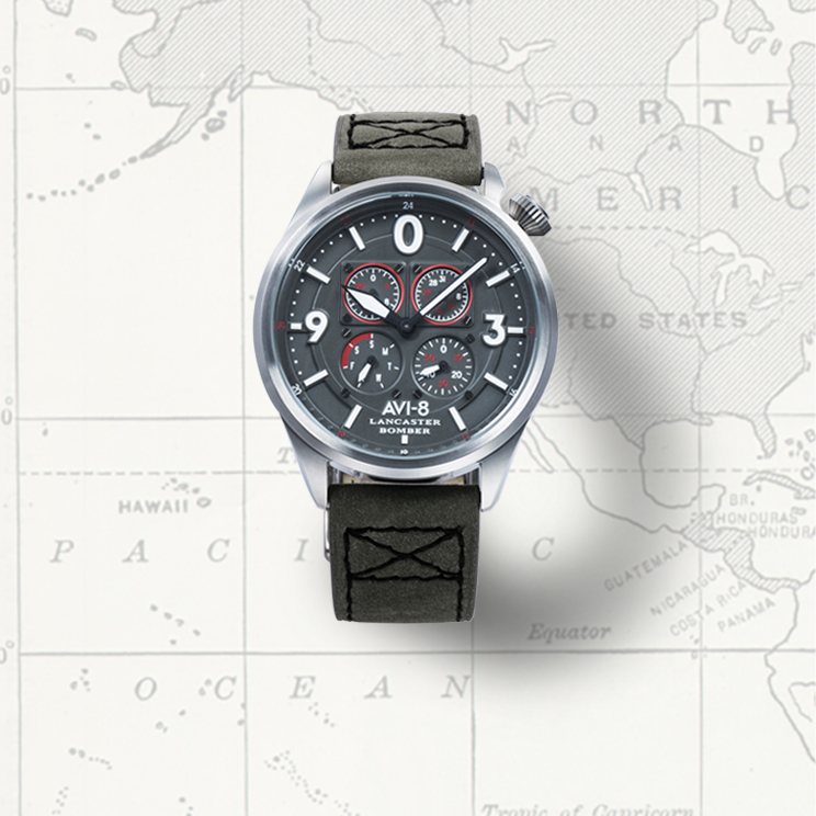 Shop AVI-8 Lancaster Bomber Watches
