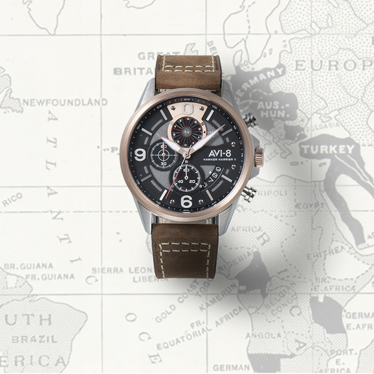 Shop AVI-8 Hawker Harrier II Watches