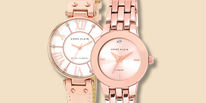 Rose Gold Anne Klein Watches