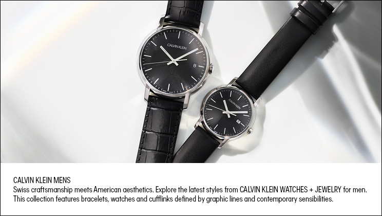 Men's Calvin Klein Watches & Jewellery - Shop Now