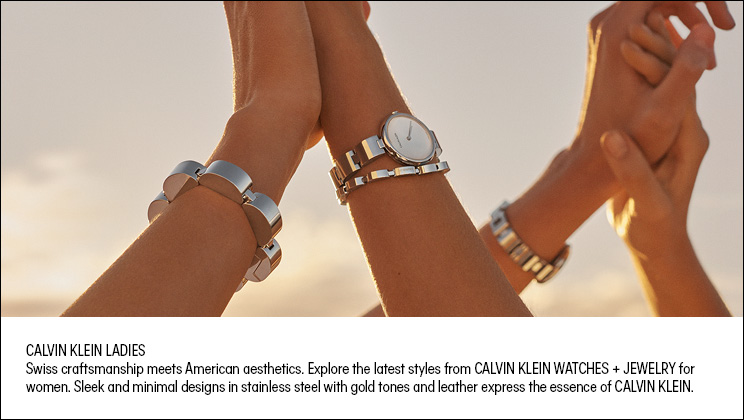 Ladies' Calvin Klein Watches & Jewellery - Shop Now