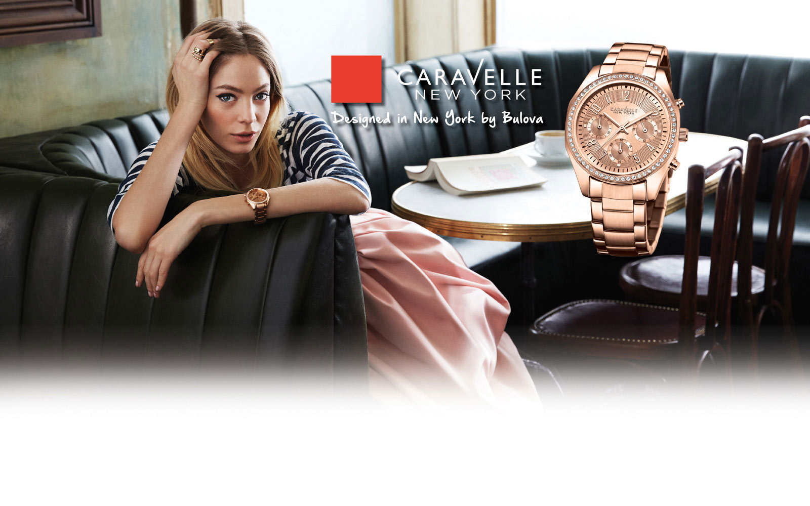 Shop Caravelle New York Watches at H.Samuel