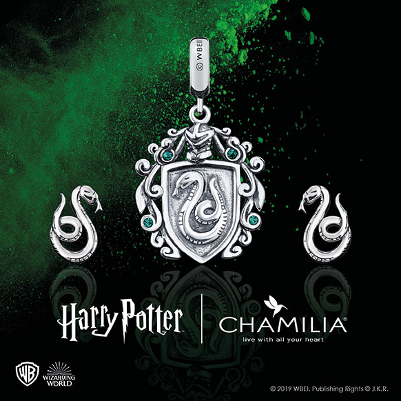 Chamilia Harry Potter - Slytherin - Shop Now