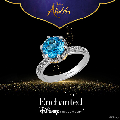 Enchanted Disney Fine Jewelry Diamond Cave Of Wonders Ring - Shop Now