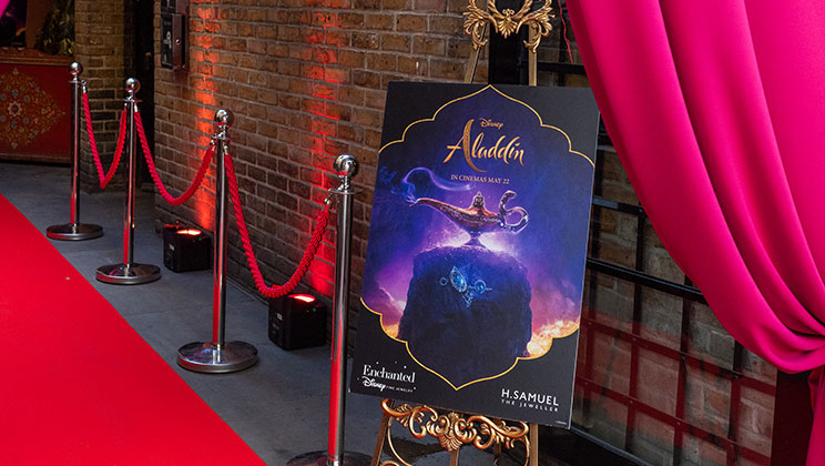 H.Samuel's Aladdin Launch Event - Read More