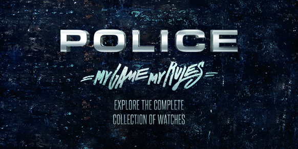 Shop All Police Watches