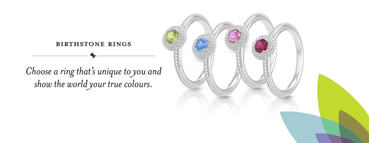 Chamilia Birthstone Rings