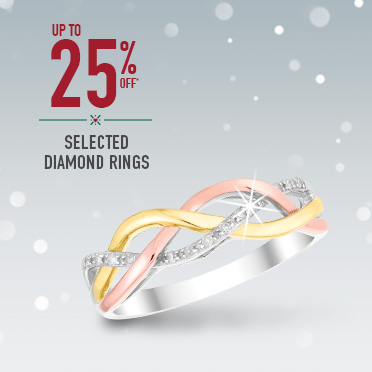 Shop 25% off Diamonds