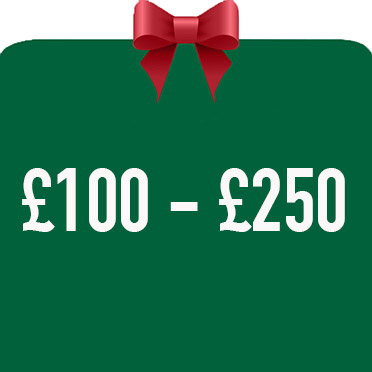 Christmas Gifts from £100 to £250