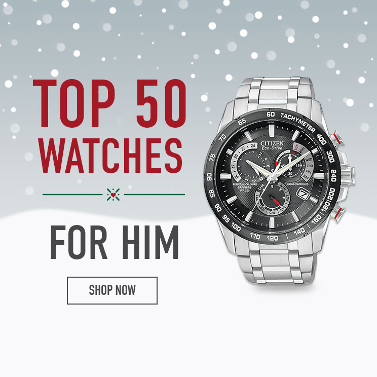 Shop our Top 50 Watches for Him